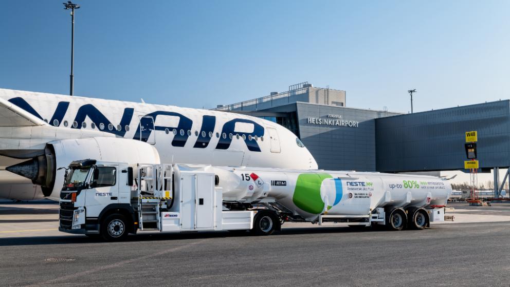 Finnair and Neste